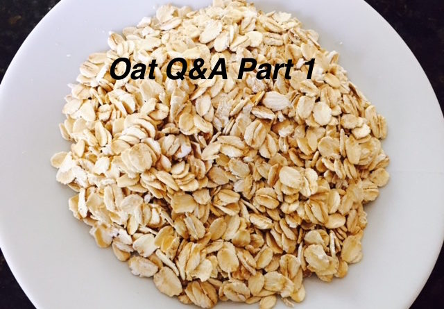 oats and the gluten free diet q a part 1