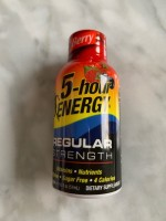 5-Hour Energy Regular Berry (Not Labeled GF)