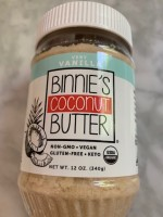 Binnie's Coconut Butter Very Vanilla