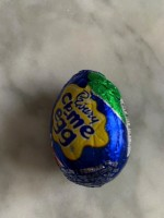 Cadbury Crème Egg (Not Labeled Gluten-Free)
