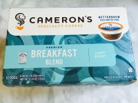 Cameron's Coffee Breakfast Blend Pods-light roast