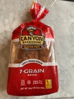Canyon Bakehouse Gluten Free 7-Grain Bread (2021)