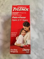 Children's Tylenol Suspension (Not Labeled GF)