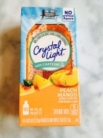 Crystal Light Peach Mango Drink Mix