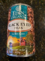 Eden Organic Black Eyed Peas (Not labeled GF)