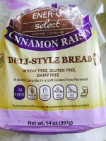 Ener-G Select Cinnamon Raisin Bread