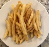 French Fries Cooked in Shared Fryers