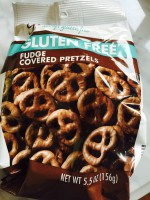 Glutino Fudge Covered Pretzels