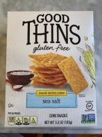 Good Thins (corn & sea salt flavor)