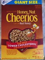 Honey Nut Gluten-Free Cheerios 2021