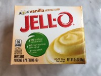 Jell-O Instant Pudding Vanilla (Not labeled GF)