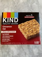 Kind Cinnamon Oat Healthy Grains Bars