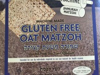 Lakewood Gluten-Free Oat Matzoh (machine made)