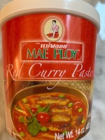 Mae Ploy Red Curry Paste (Not Labeled Gluten-Free)