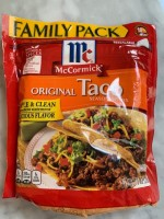 McCormick Original Taco Seasoning (Not Labeled GF)