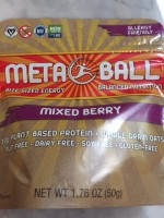 MetaBall Energy Bites Mixed Berry