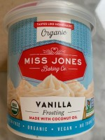 Miss Jones Baking Co. Vanilla Frosting