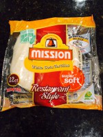 Mission White Corn Tortillas (Restaurant Style)