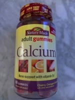 Nature Made Adult Gummies Calcium
