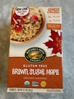 Nature's Path GF Brown Sugar Maple Oatmeal