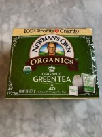Newman's Own Green Tea (Not Labeled GF)