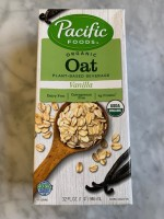 Pacific Foods Vanilla Oat Beverage Not Labeled GF