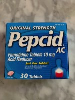 Pepcid AC Original Strength Tabs (Not Labeled GF)