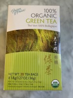 Prince of Peace Green Tea (Not Labeled GF)