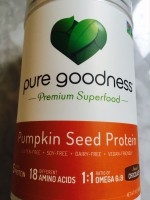 Pure Goodness Pumpkin Seed Protein (chocolate)