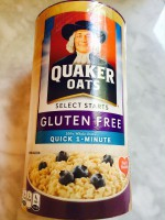 Quaker Select Starts GF Quick 1-Minute Oats