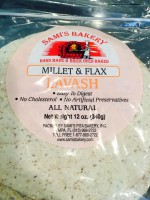 Sami's Bakery Millet & Flax Lavash (Not Labeled GF