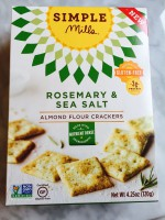 Simple Mills Crackers (Rosemary & Sea Salt)
