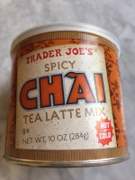 Trader Joe's Spicy Chai Tea Latte/NOT LABELED GF