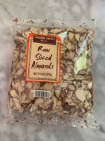 Trader Joe's Raw Sliced Almonds (Not Labeled GF)