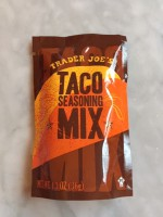 Trader Joe's Taco Seasoning Mix (Not Labeled GF)