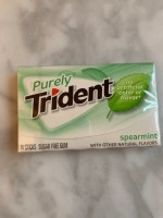 Purely Trident Spearmint Gum (Not Labeled GF)