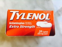 Tylenol Extra Strength Caplets (Not Labeled GF)
