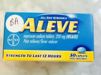 Aleve Caplets (Not Labeled GF)