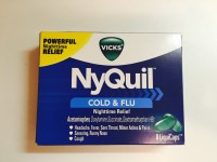 Vick's NyQuil Cold/Flu Nighttime Not labeled GF